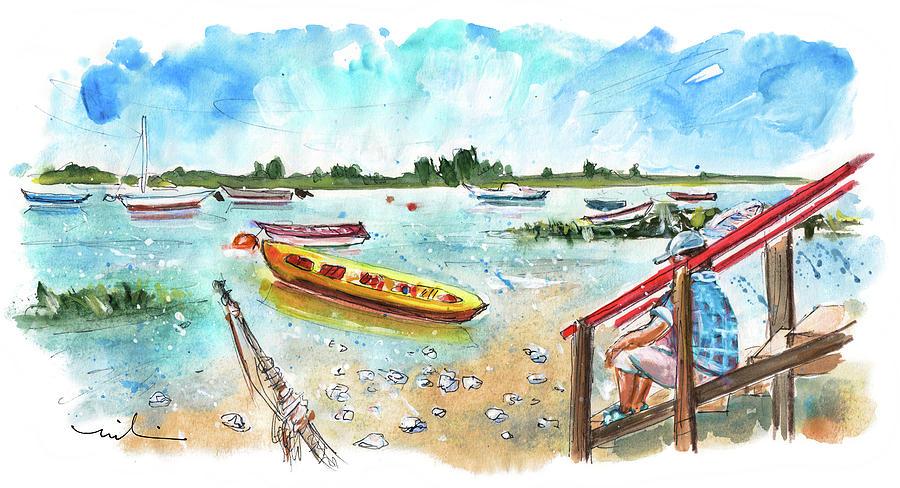 Travel Painting - Santa Luzia 02 by Miki De Goodaboom