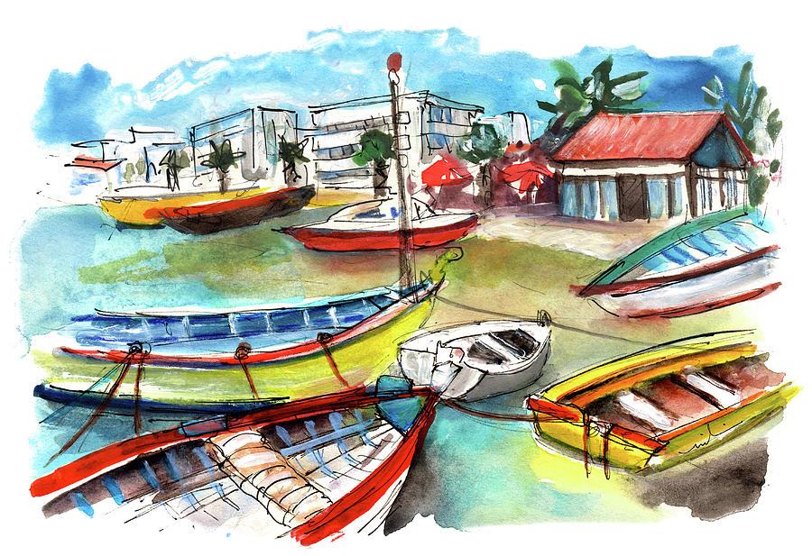 Travel Painting - Santa Luzia 04 by Miki De Goodaboom