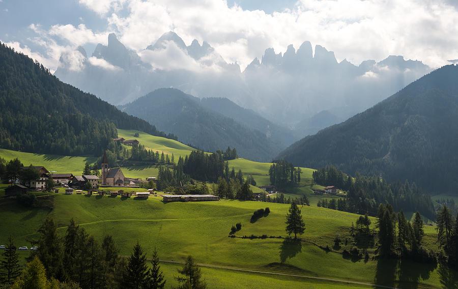 Italy Photograph - Santa Maddalena - Italy by Wim Slootweg