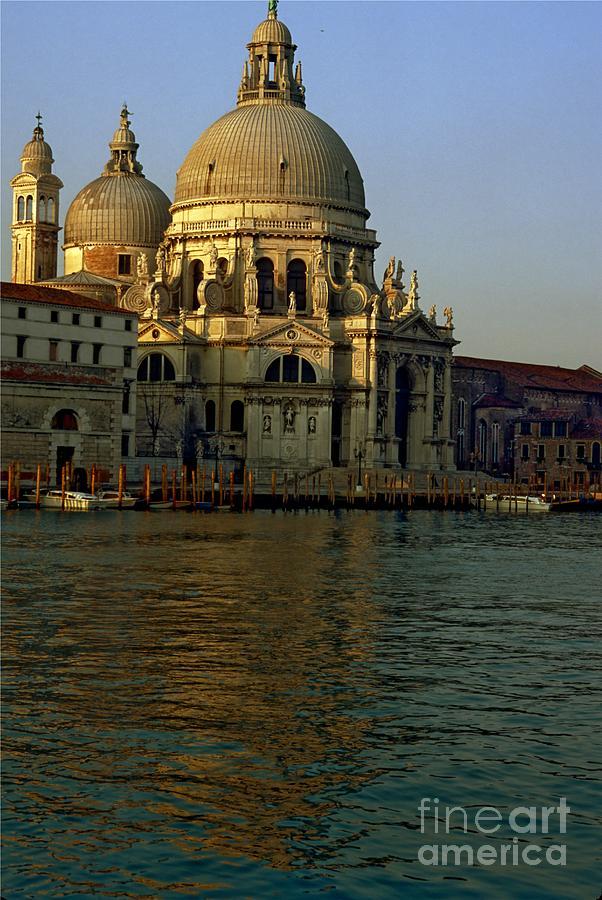 Venice Photograph - Santa Maria Della Salute In Venice In Morning Light by Michael Henderson