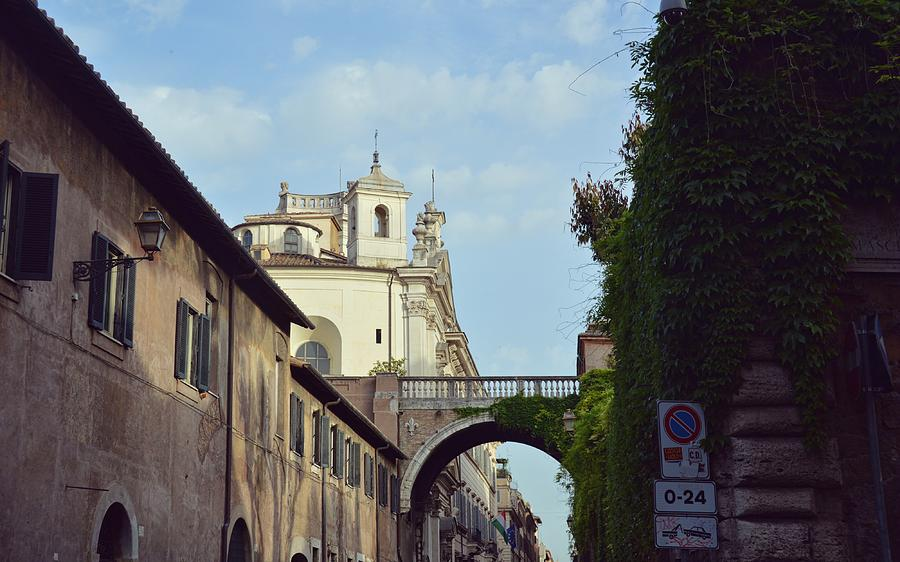 Italy Photograph - Santa Maria On Via Guilia by JAMART Photography