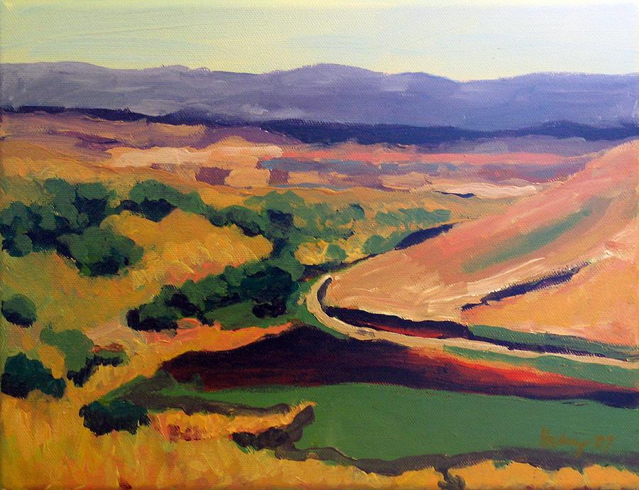 Valley Painting - Santa Maria Valley by Deborah Hildinger