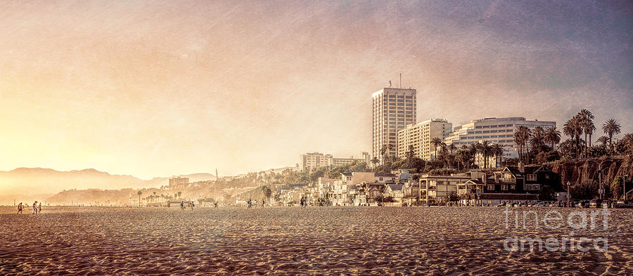 Santa Monica Beach Photograph