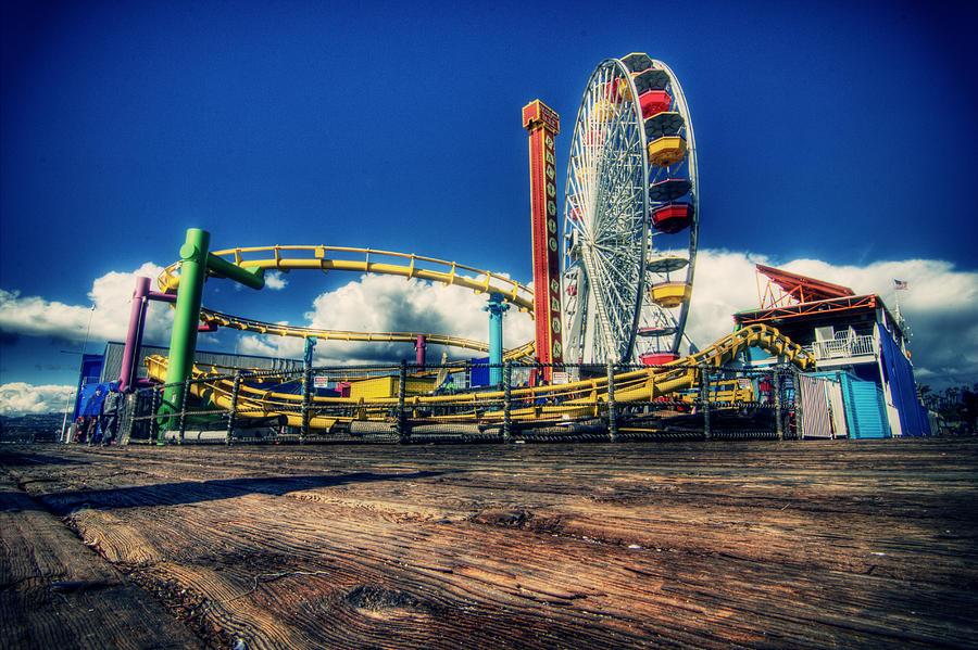 Santa Monica Photograph - Santa Monica by Chris Multop