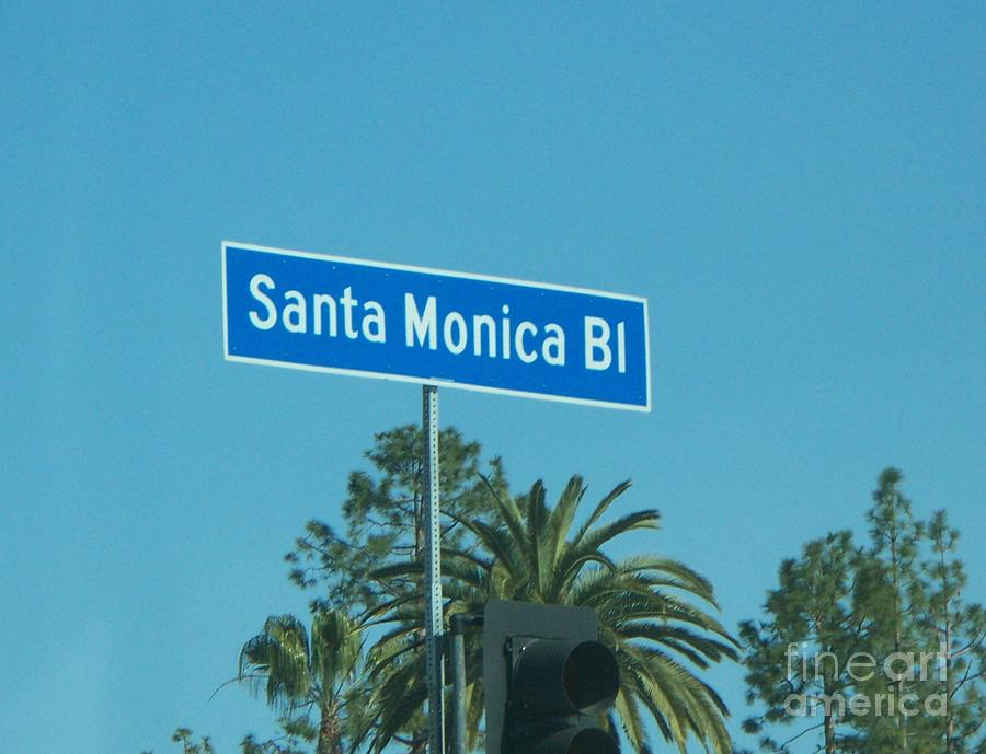 Santa Monica Photograph - Santa Monica by Sacred  Muse