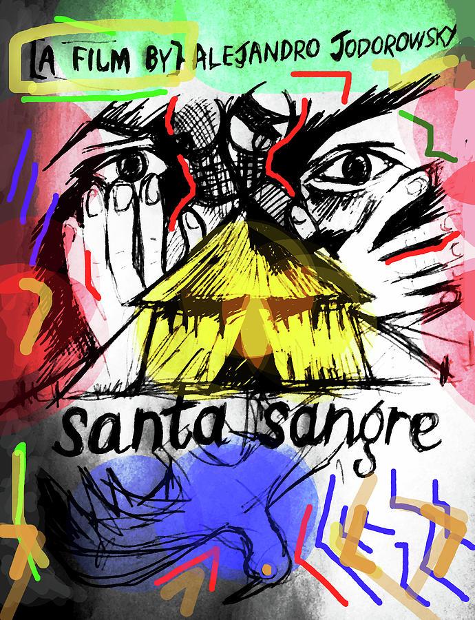 Santa Sangre 2 Poster  by Paul Sutcliffe
