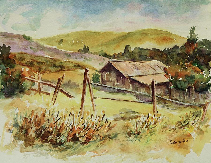 Santa Teresa County Park California Landscape 4 by Xueling Zou