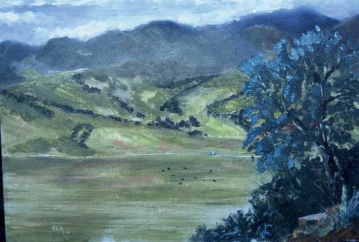 2006 Painting - Santa Yanez Valley       First Day of Spring by Bryan Alexander