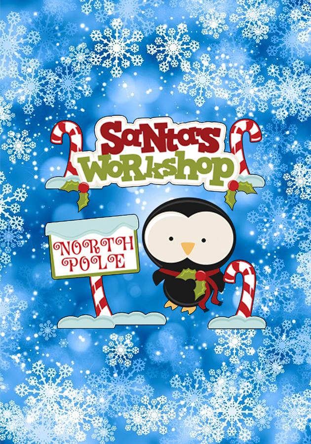 Santa's Workshop Digital Art - Santas Workshop Penguin by Justin Clanton