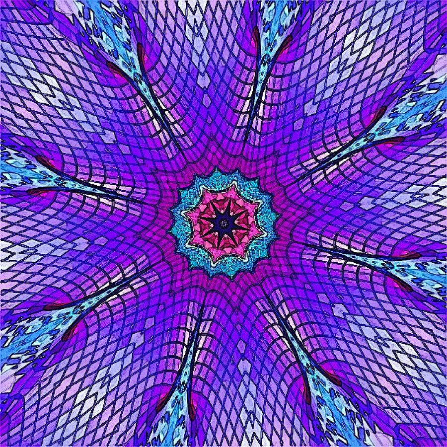 Santi Digital Art by Mariana Willard
