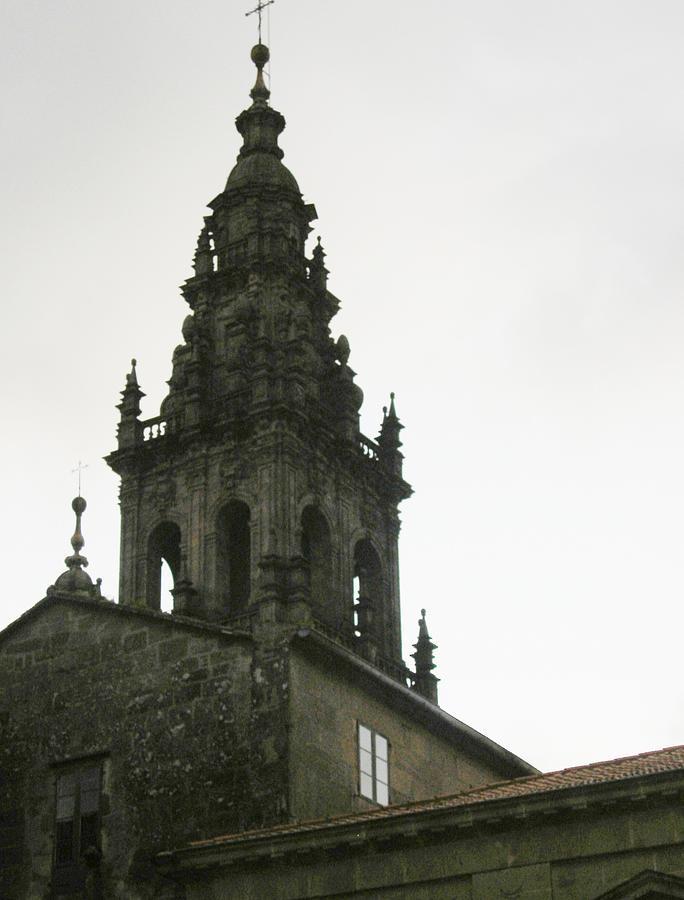 Architecture Photograph - Santiago De Compostela Steeple by Halle Treanor