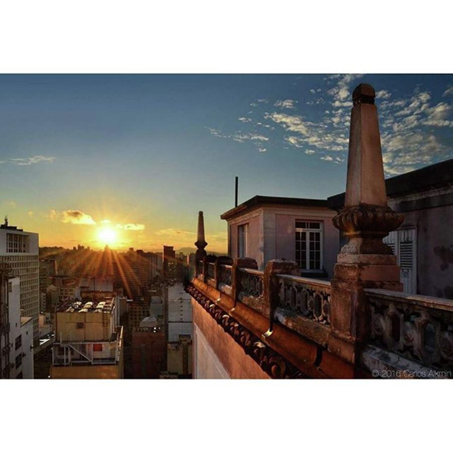 Metropolis Photograph - Sao Paulo, Brazil - Classic Terrace by Carlos Alkmin
