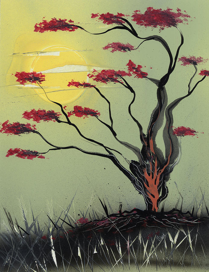 Sapling Painting - Sapling by Jason Girard