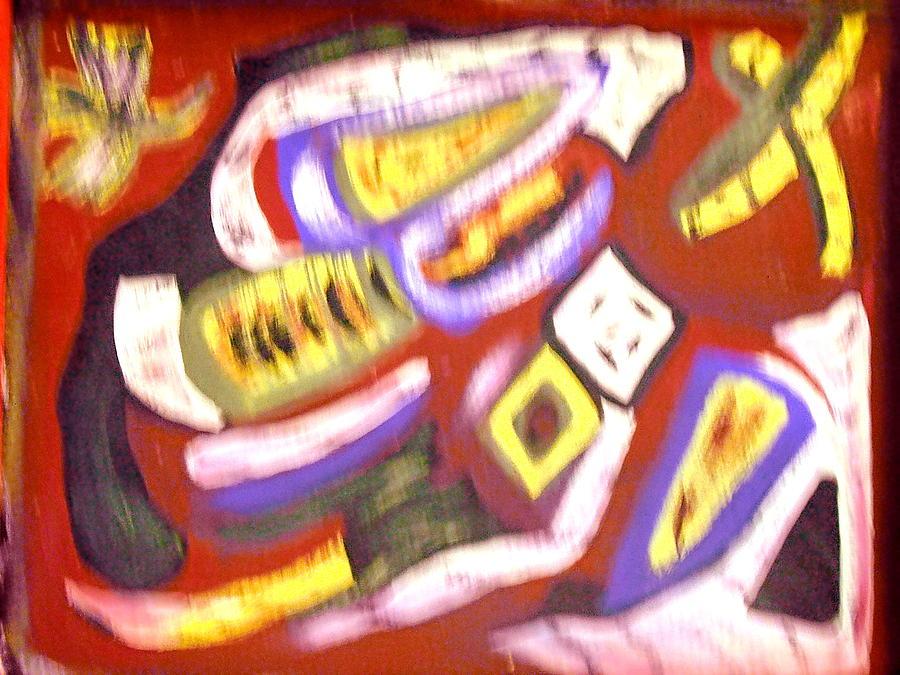 Guns Painting - Sapon by BJ Abrams