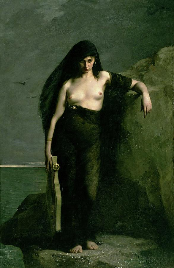 Sappho by Auguste Mengin