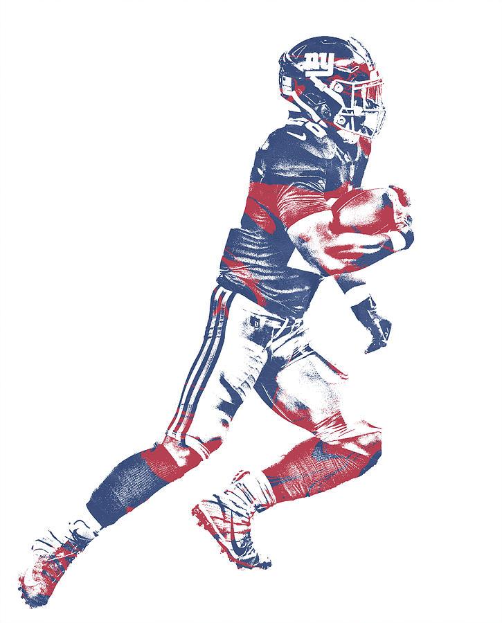 release date 9c09c 887eb Saquon Barkley New York Giants Pixel Art 1