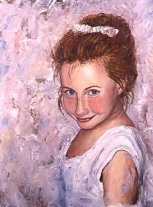 Sarah Painting by Biki Chaplain