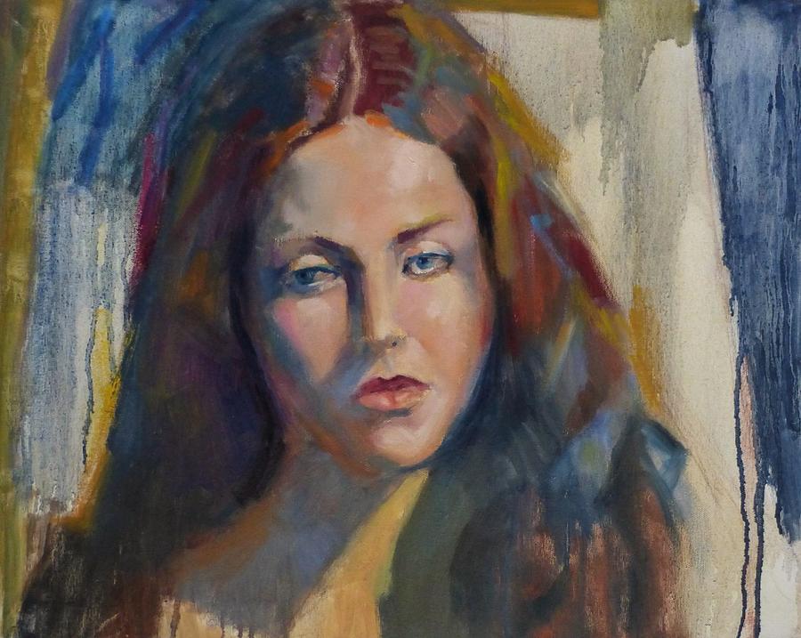Girl Painting - Sarah by Irena Jablonski