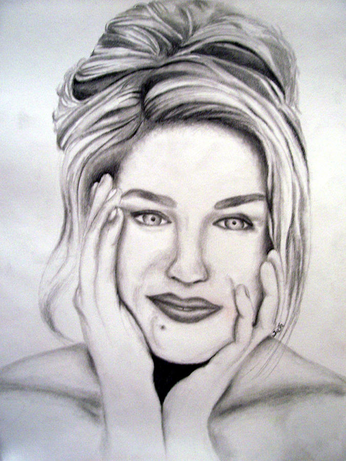 Sarah Jessica Parker Drawing by Shasta Miller
