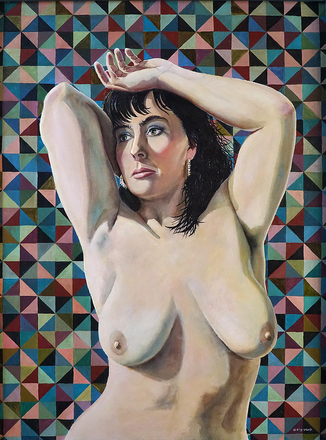 Nude Painting - Sarah by Jo King
