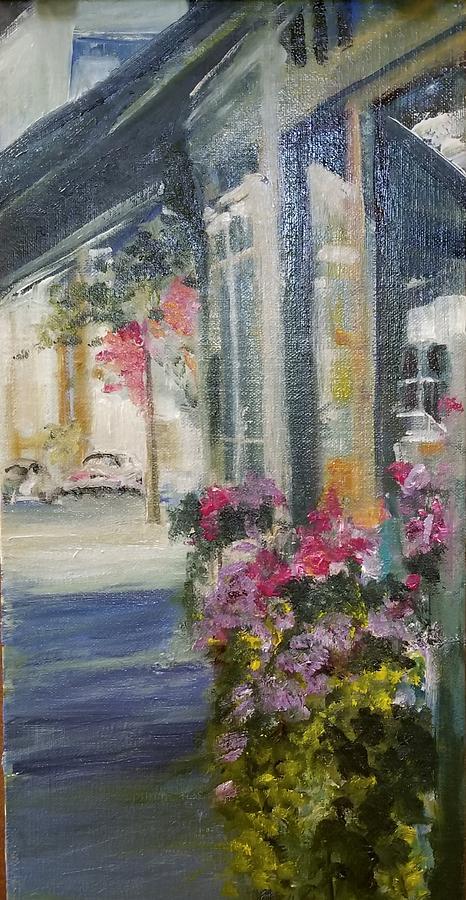 Saranac Lake Downtown by Cheryl LaBahn Simeone