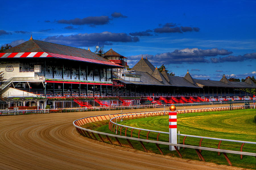 Saratoga Photograph - Saratoga Race Track by Don Nieman