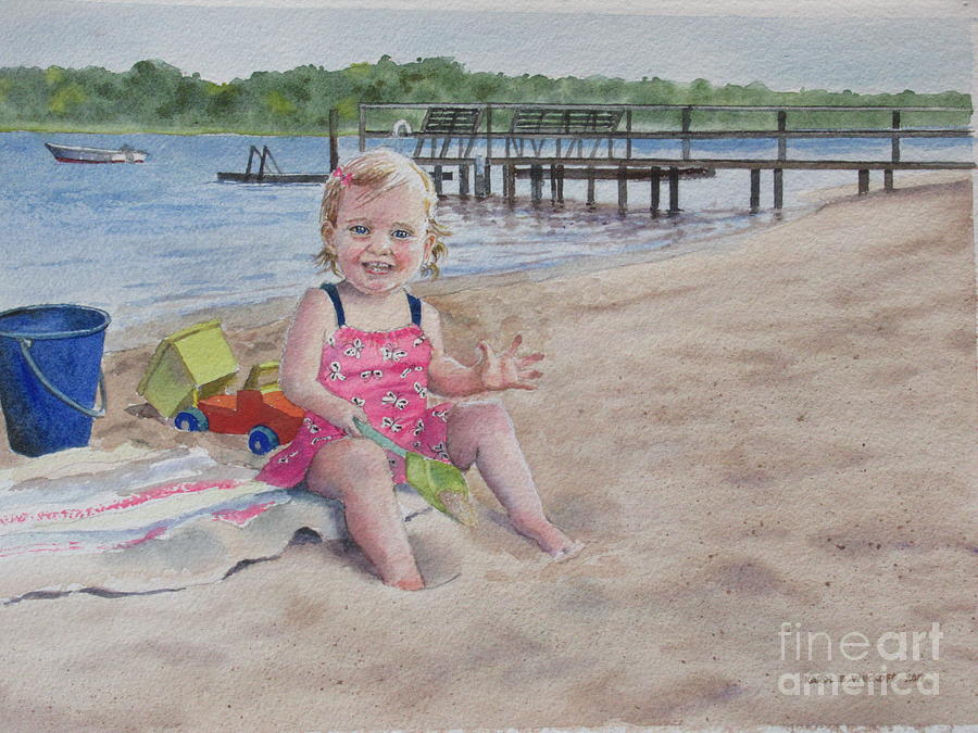 SAS BASS RIVER BEACH by Karol Wyckoff