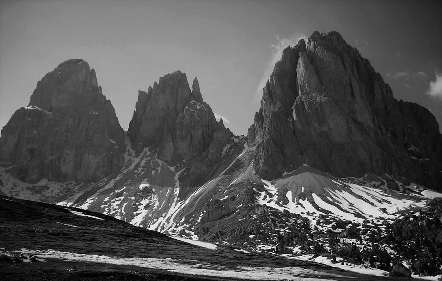 Europe Photograph - Sasso Lungo by Juergen Weiss