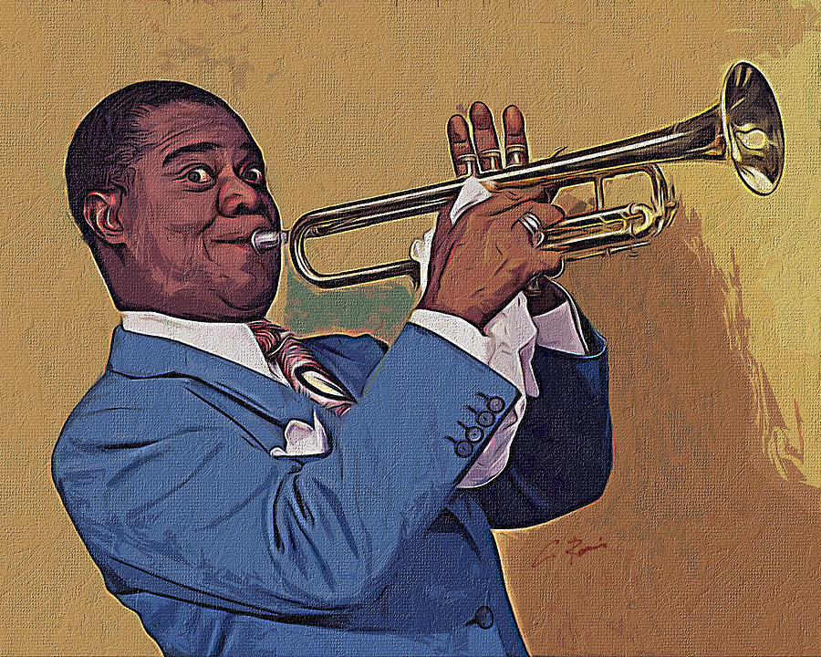 Satchmo by Charlie Roman