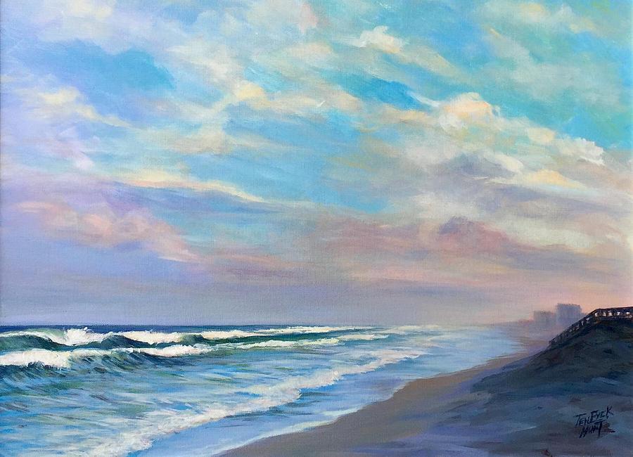 Satellite Beach, 6PM by Gretchen Ten Eyck Hunt