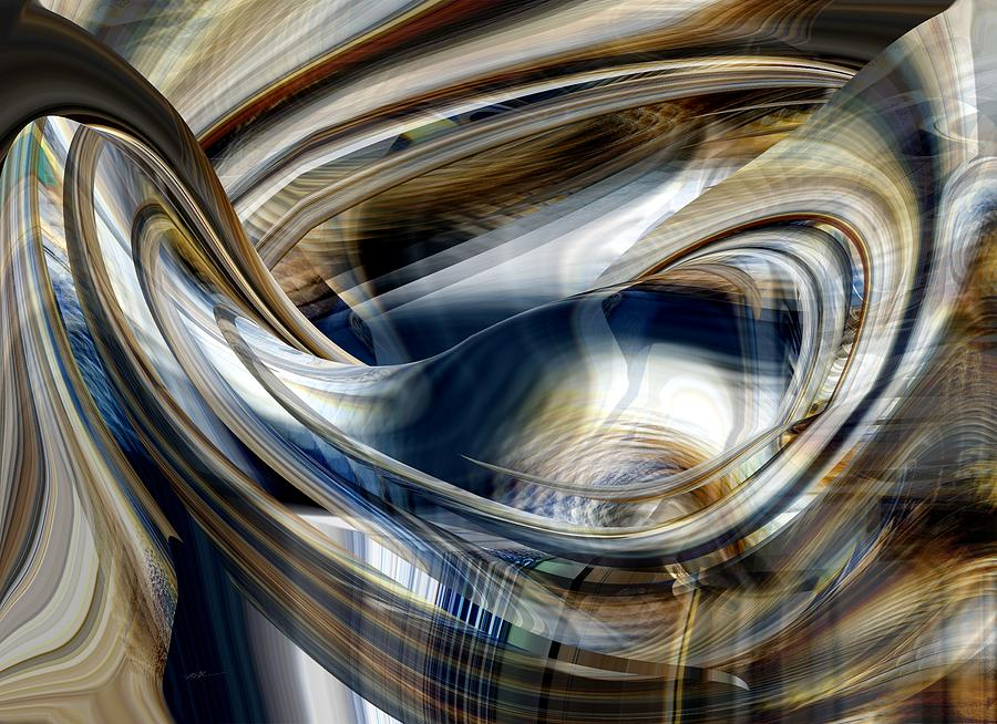 Saturday - Abstract by rd Erickson