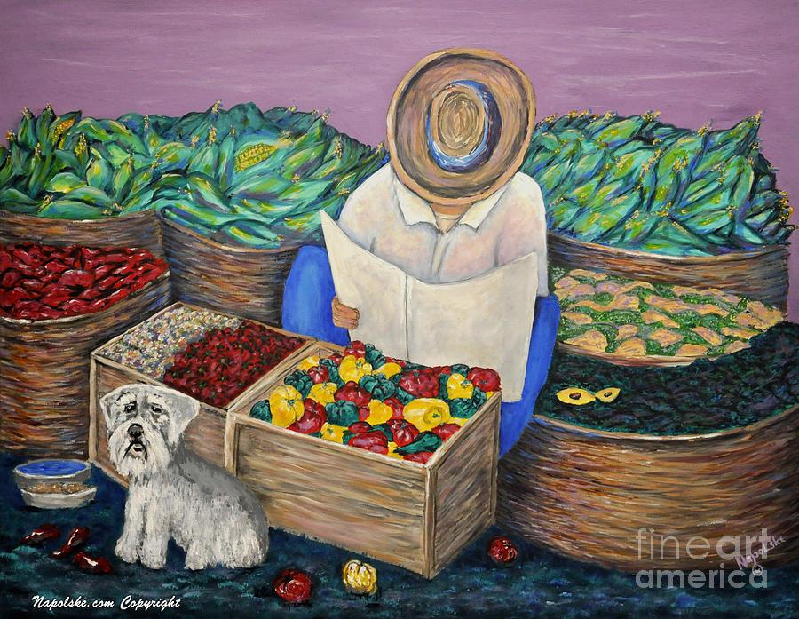 Saturday Market by Barney Napolske