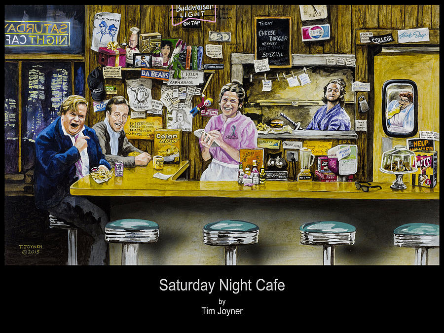 Saturday night Cafe by Tim  Joyner
