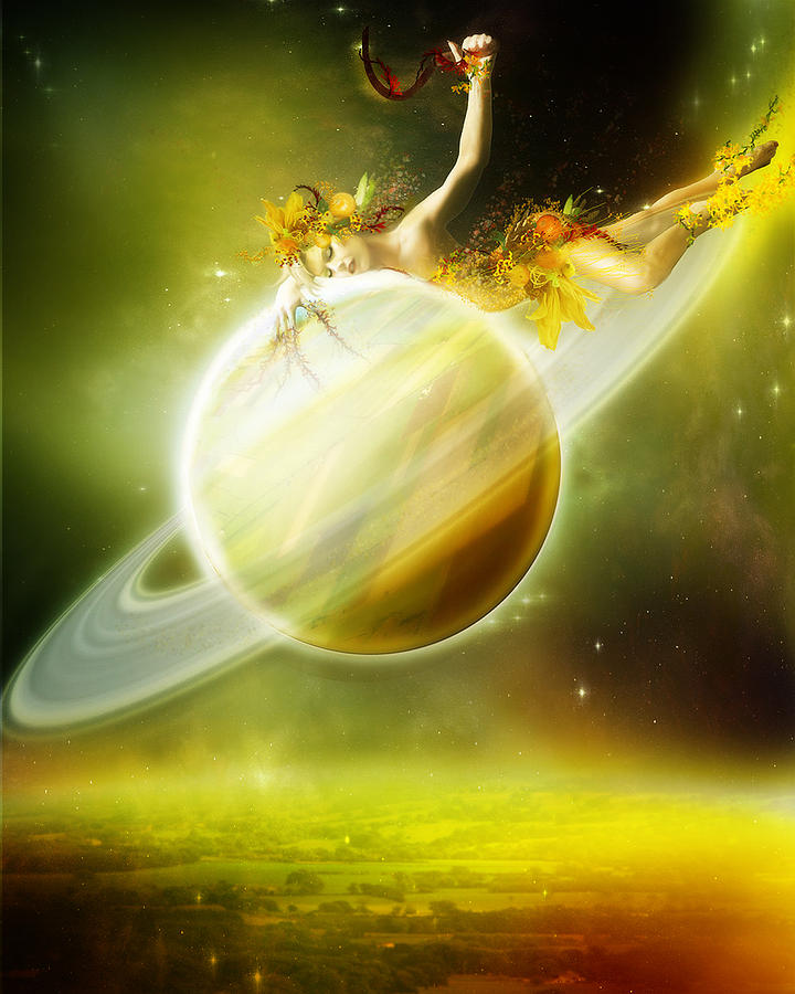Saturn Digital Art