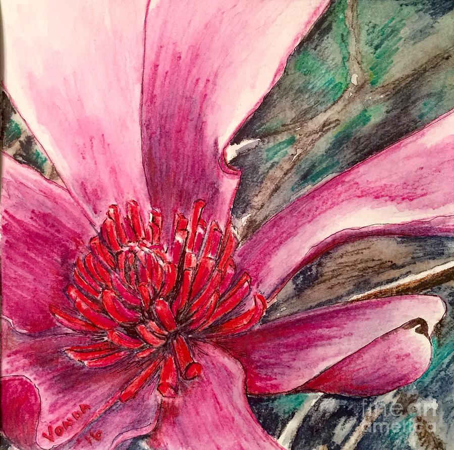 Saucy Magnolia by Vonda Lawson-Rosa