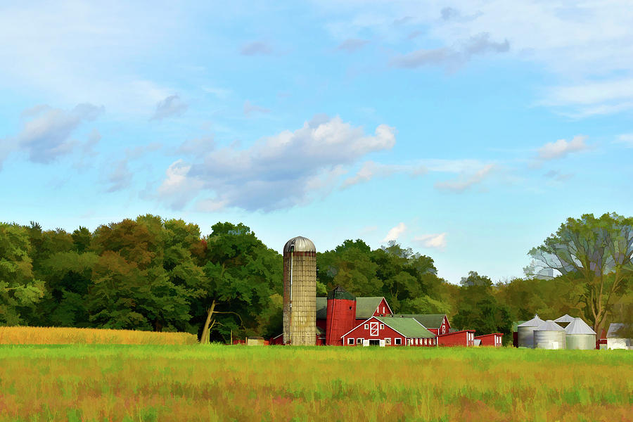 Sauer Farm, Mt. Marion by NANCY DE FLON