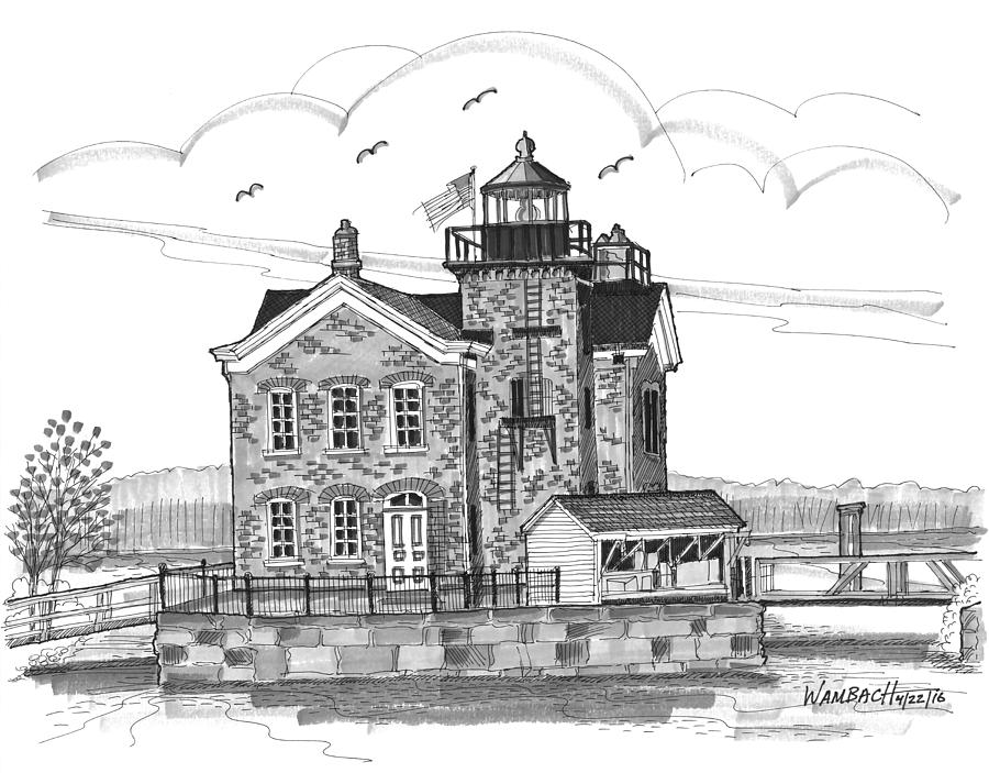 Saugerties Lighthouse by Richard Wambach