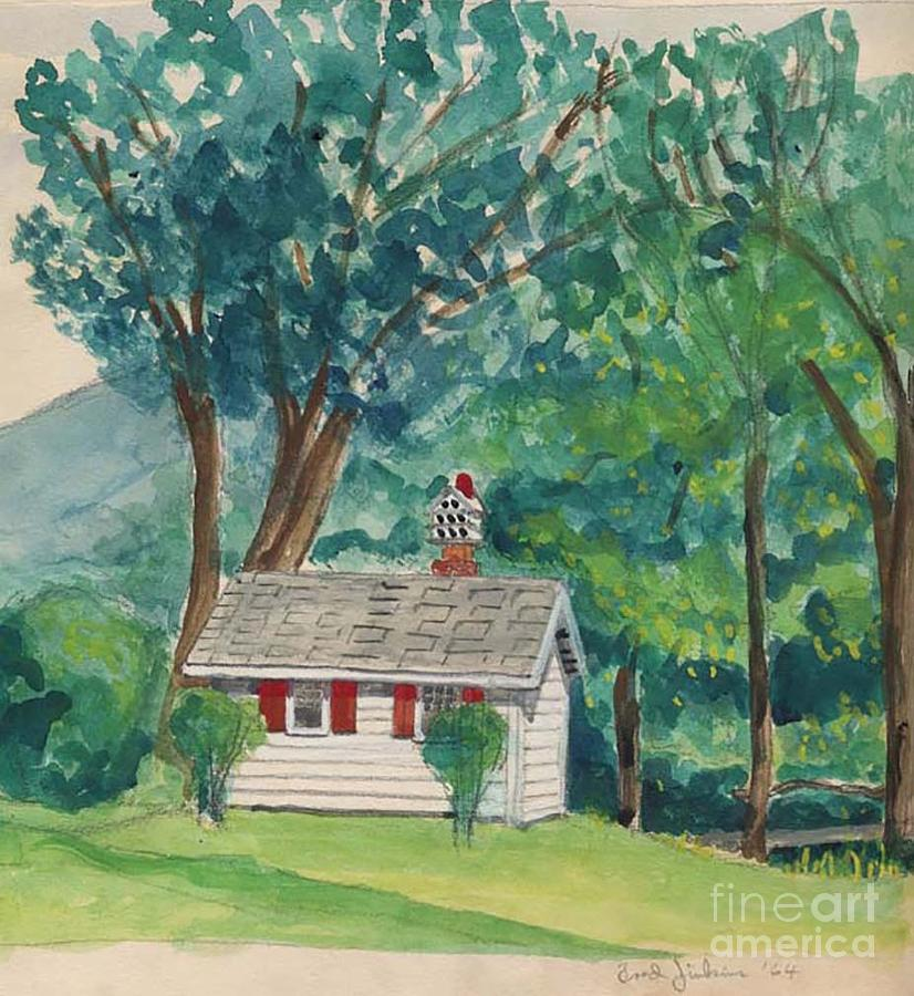 Sauna Painting - Sauna At Murray Hollow by Fred Jinkins
