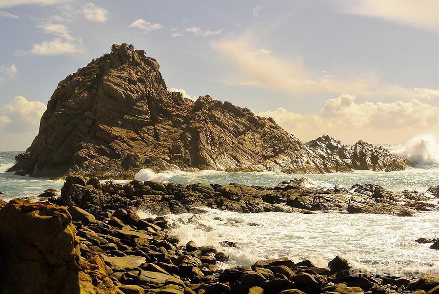 Rock Photograph - Savage by Oscar Moreno