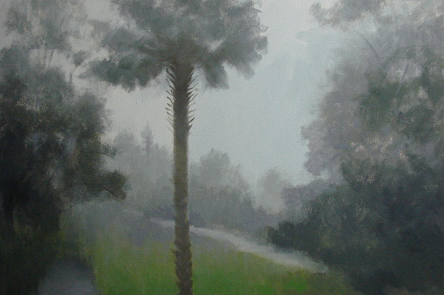 Fog Painting - Savanna Fog by Robert Rohrich