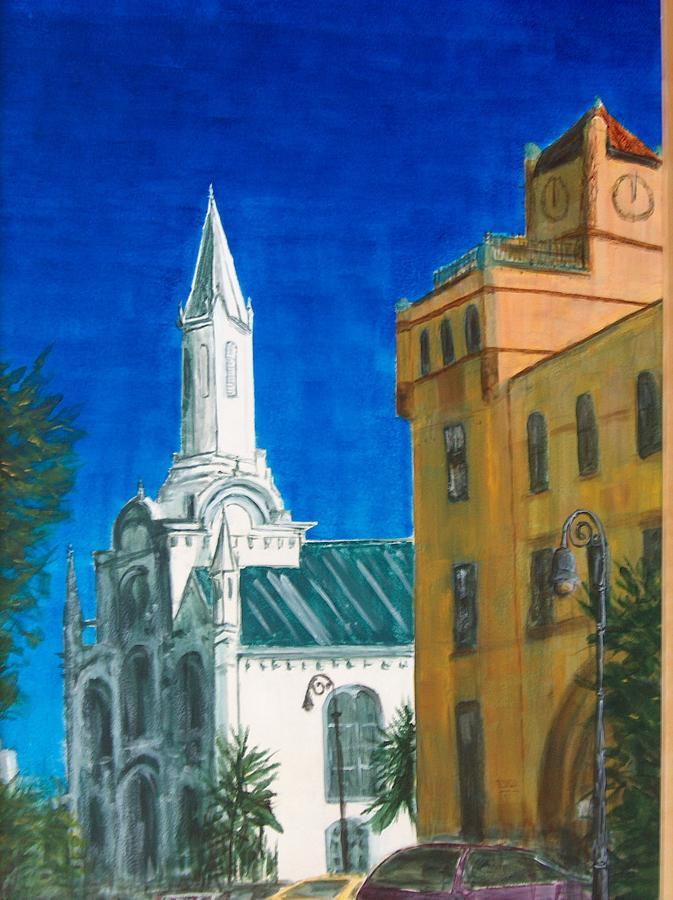 St.johns Painting - Savannah Noon by Pete Maier