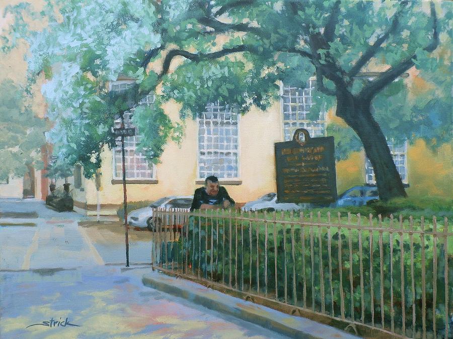 Savannah Painting - Savannah Shade by Carol Strickland