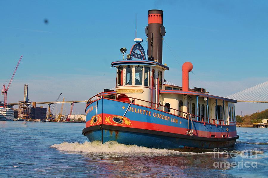 Tugboat Photograph - Savannah Tug by Keri West