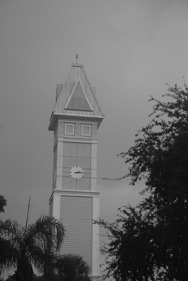 Black And White Photograph - Save The Clock Tower by Rob Hans