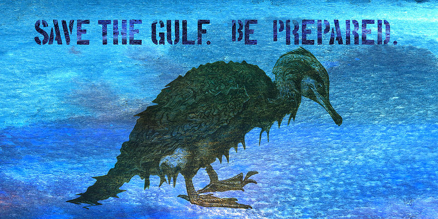 Mississippi Mixed Media - Save The Gulf America 3 by Paul Gaj