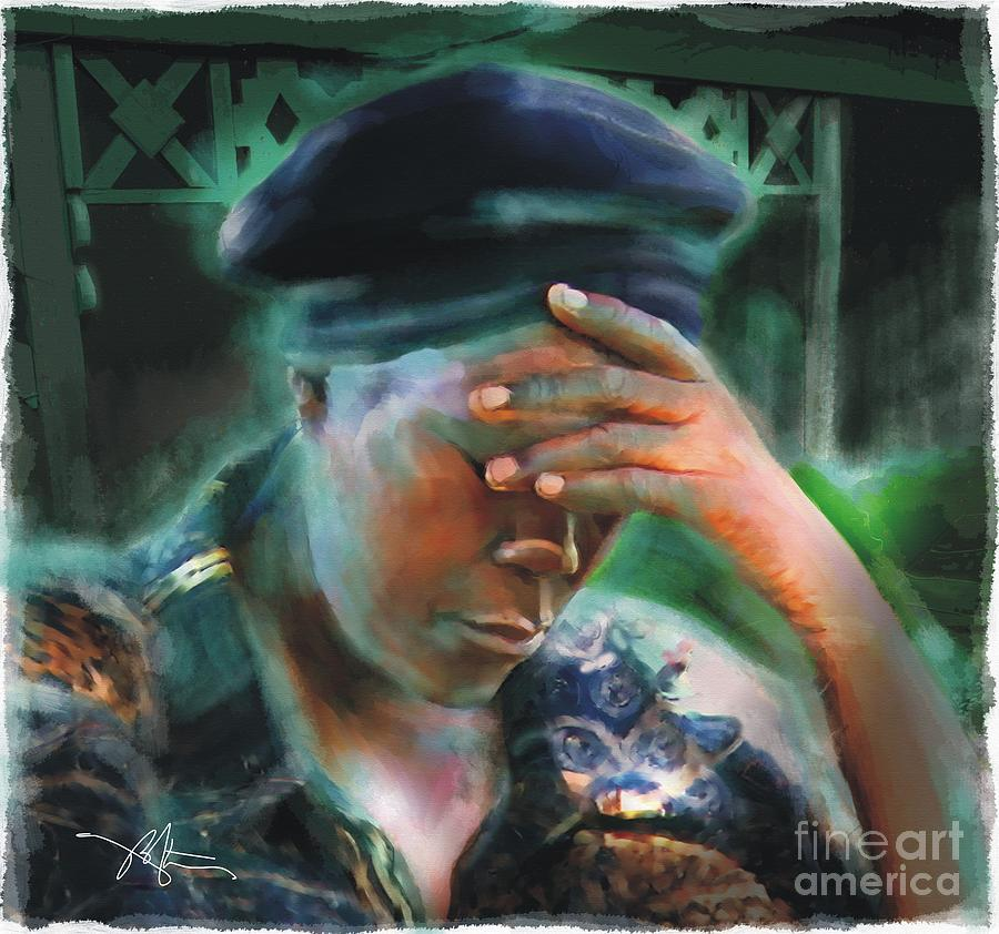 Impressionism Painting - Save Us by Bob Salo
