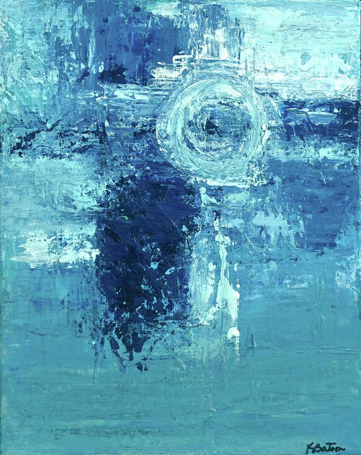 Canvas Print Painting - Saving Grace by K Batson Art
