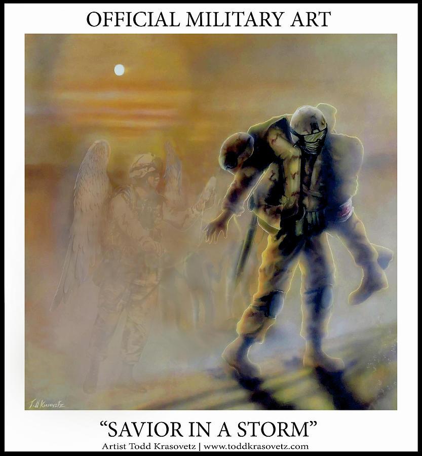911 Photograph - Savior In A Storm by Todd Krasovetz