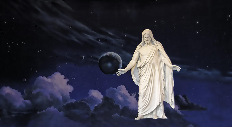Jesus Photograph - Savior Of The World by Rich Stedman