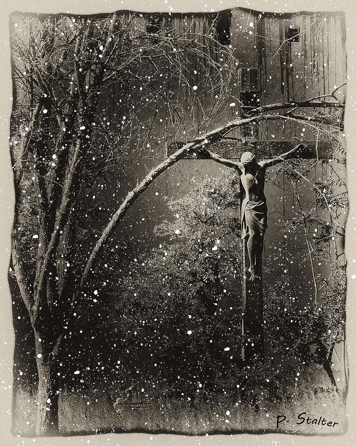 Jesus Digital Art - Savior by Patricia Stalter